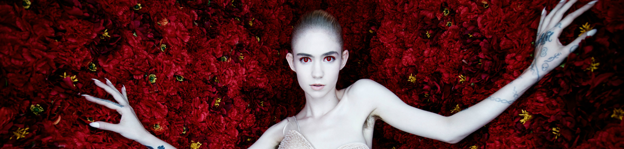 Grimes - Grimes' Visions Announced As Album of the Year at Rough Trade and Resident