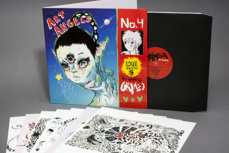 Grimes - 'Art Angels' Released On LP/CD/Cassette Today