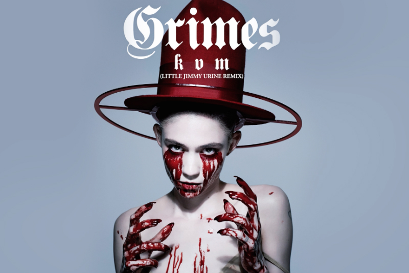 Grimes - 'Kill V. Maim' Remix by Little Jimmy Urine