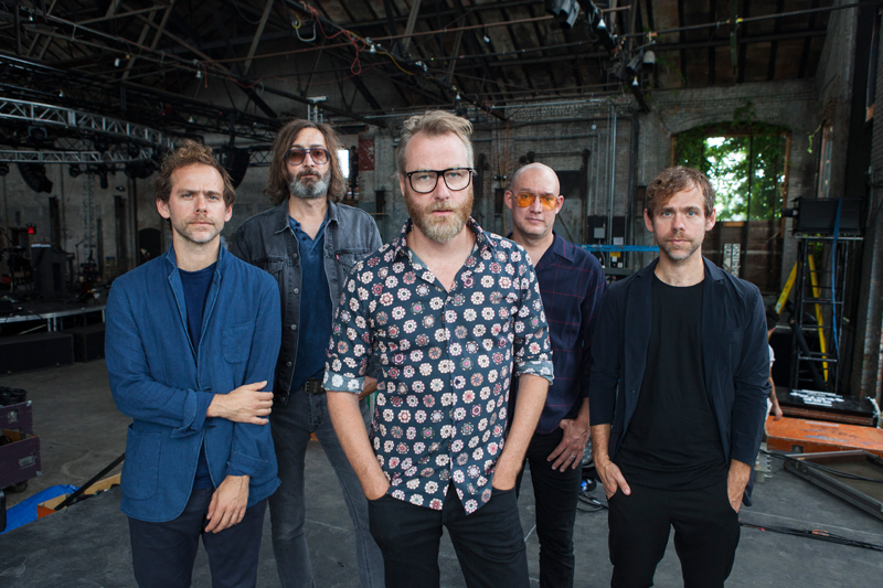 The National - Score Highest Chart Positions Of Career