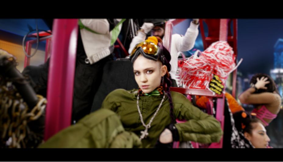 Grimes - 'Kill V. Maim'